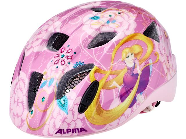 Alpina Ximo Disney Casque Enfant, rapunzel